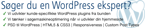 WordPress eksperter